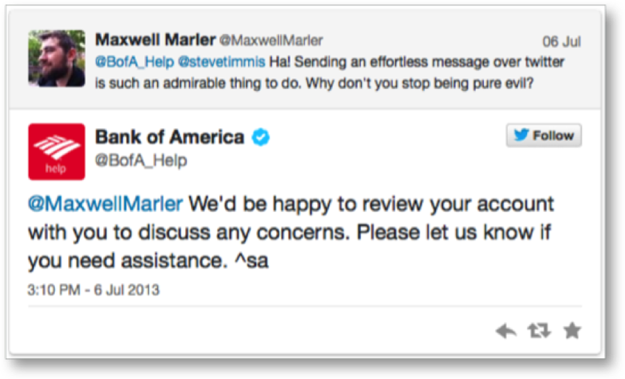 Bank-of-America-auto-tweet