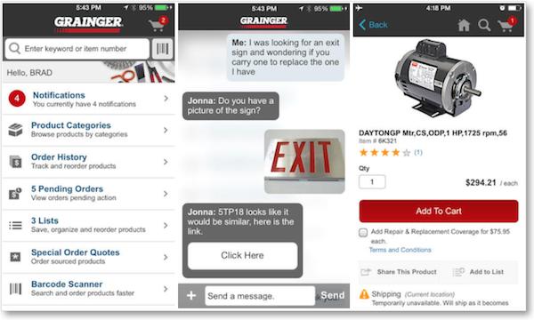 Grainger-Mobile-App