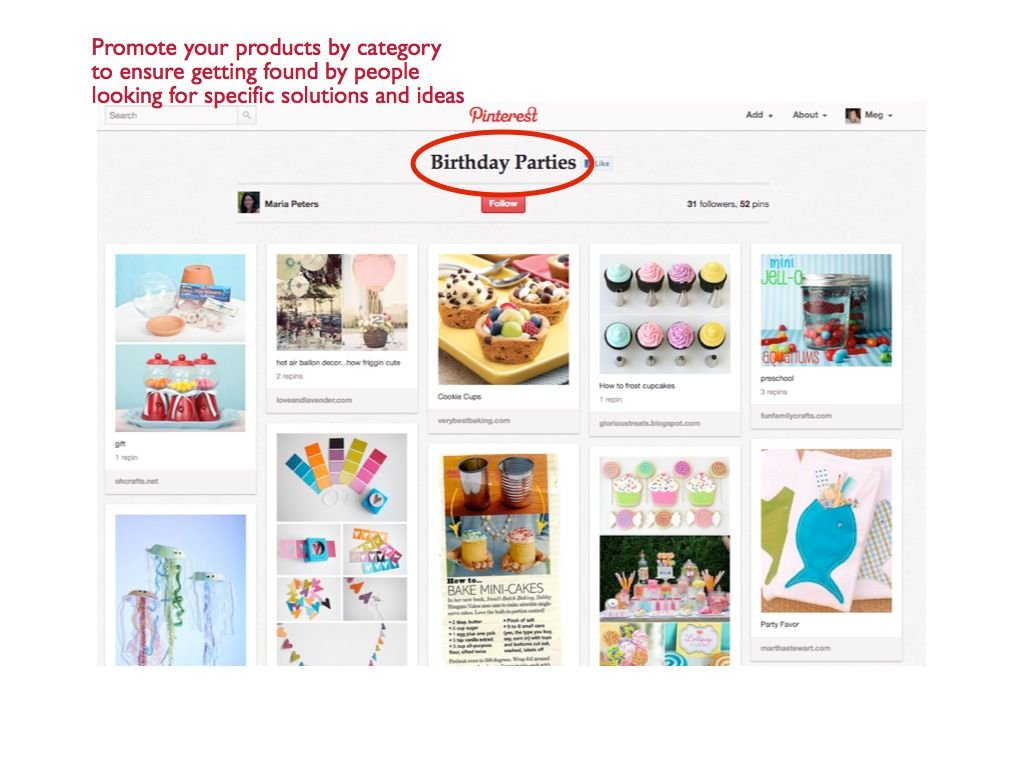 sell products on pinterest