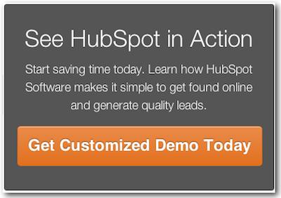 HubSpot Demo CTA