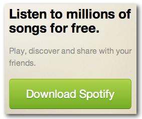 Spotify Sign Up CTA