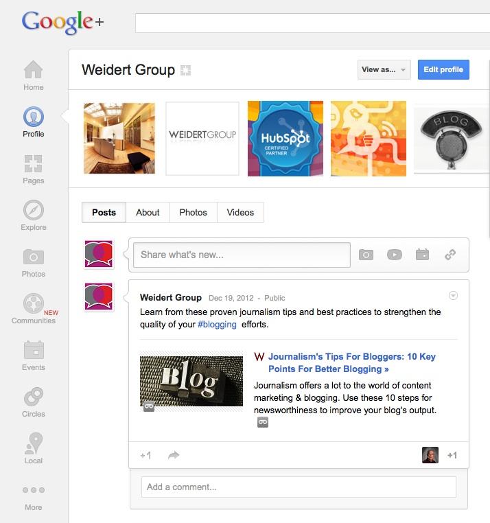 Weidert_Group_Google+_Profile