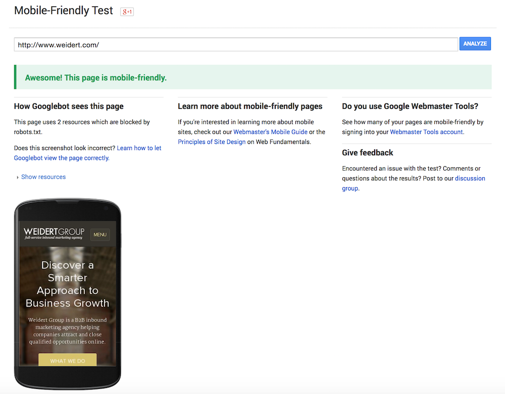 Google-Mobile-Friendly-Testing-Tool