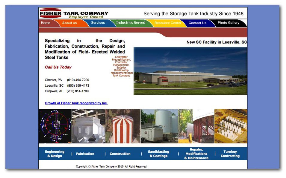 fisher_tank_website