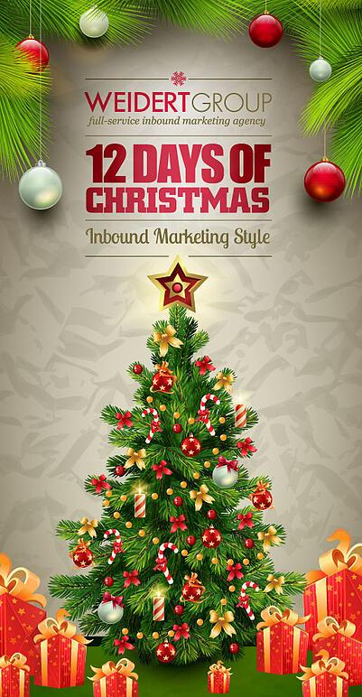 12 Days of Christmas Inbound Marketing Style Day 11