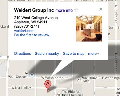 Weidert-location-screenshot