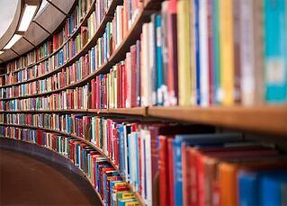 books-on-shelf
