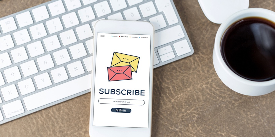 Subscribe inbound marketing email message