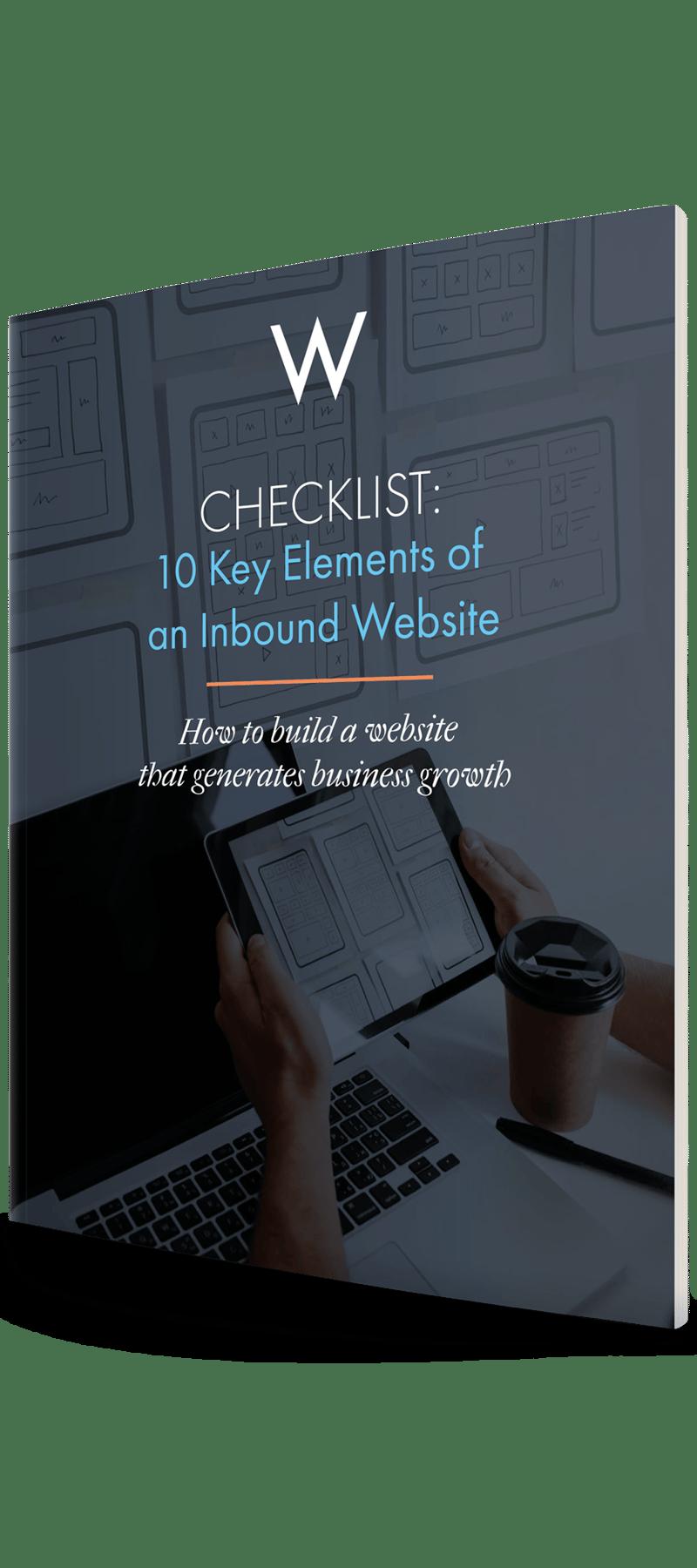 Checklist: Key Elements of an Inbound Website