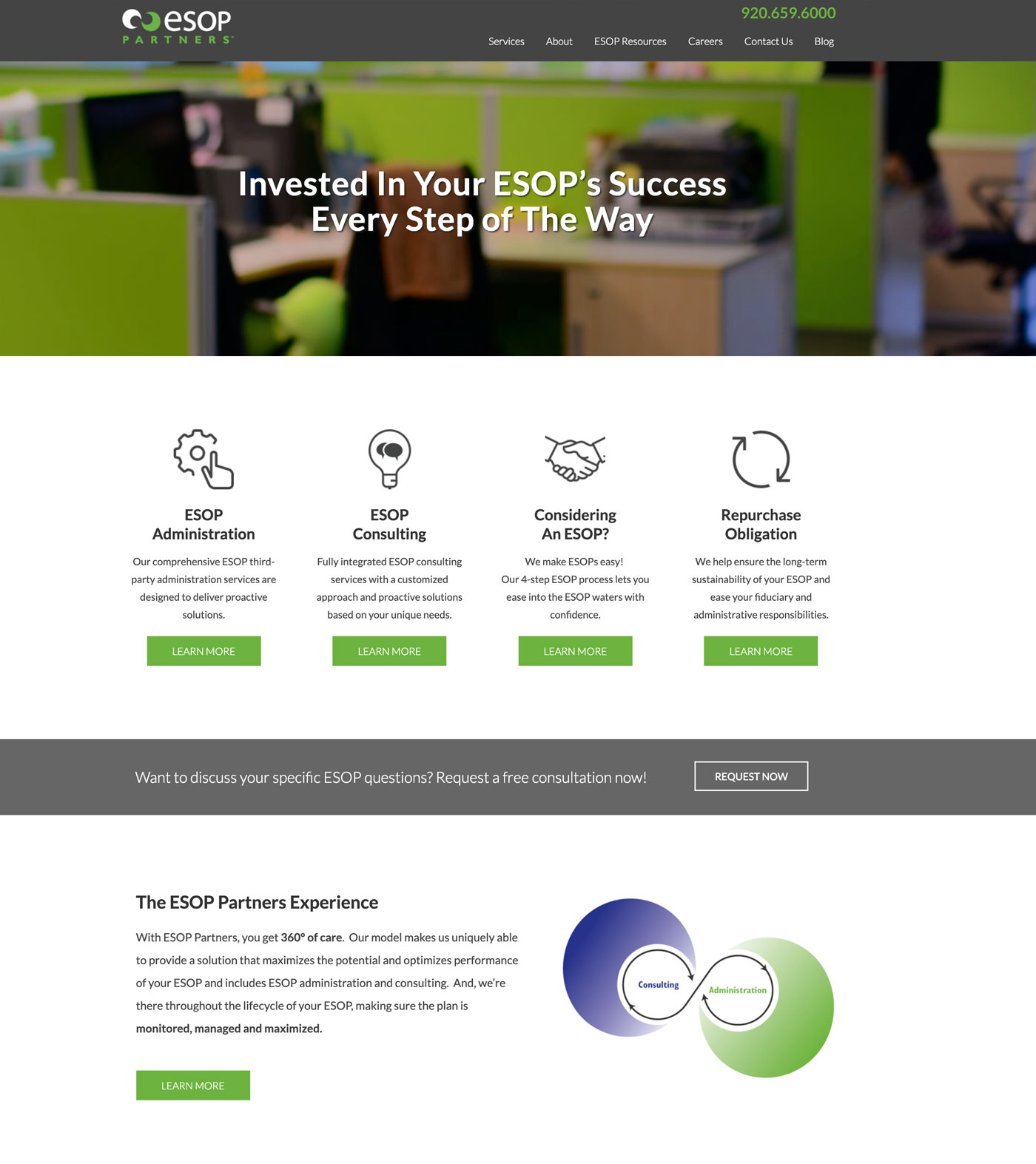 ESOP Partners home page