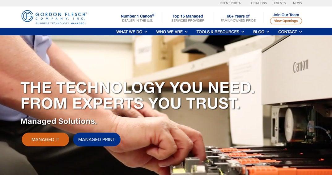 Gordon-Flesch Co. website