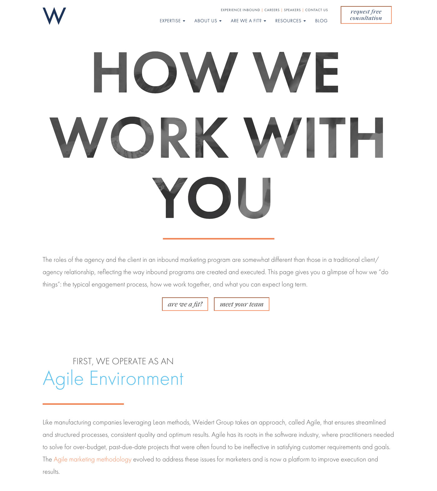 Weidert Group Process page