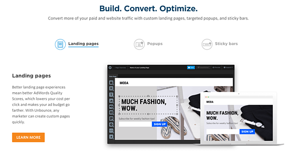 Unbounce_example