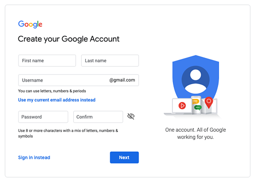 Google-create-business-account