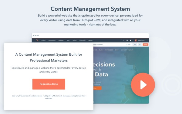 HubSpot CMS pros and cons