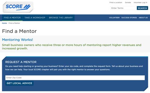 Score_Find_Mentor