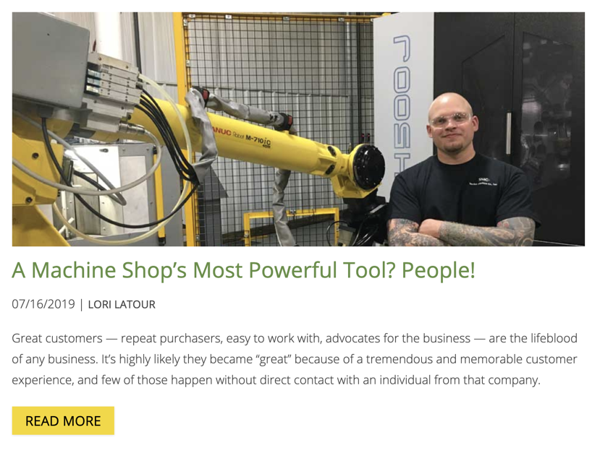 Stecker Machine Co uses inbound recruiting to address labor shortage