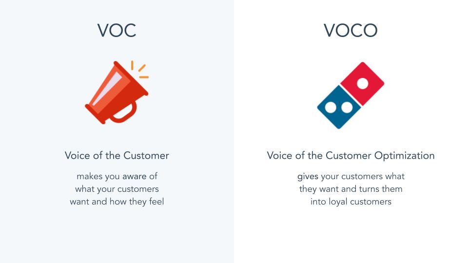 VoC vs. VOCO