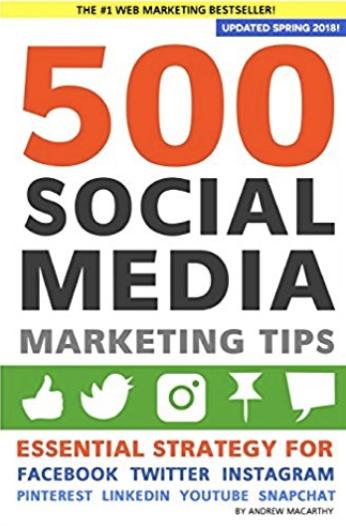 500 Social Media Marketing Tips - Andrew Macarthy
