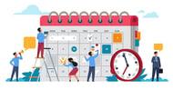 Keyword research-driven blog calendar