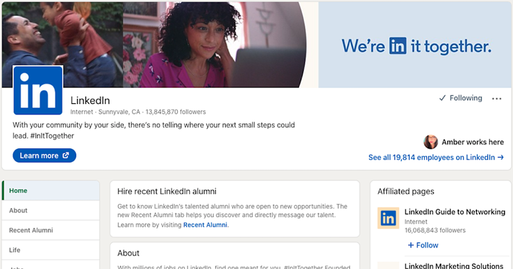 linkedin company pages new features 2020