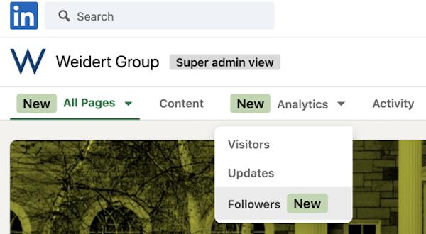 LinkedIn Company Page Follower Analytics