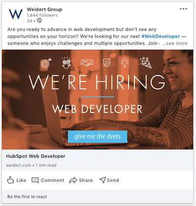 Sample-Inbound-Recuriting-LinkedIn-Ad