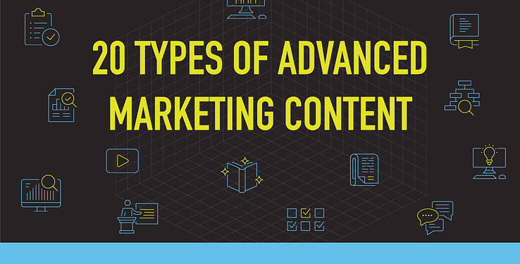 Different types of marketing content