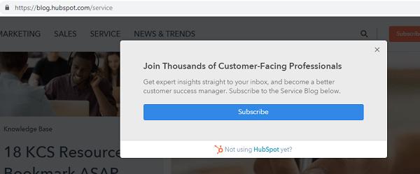 HubSpot-dynamic-popup-screenshot
