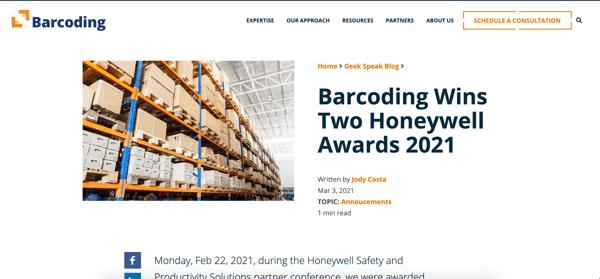 Barcoding-news-blog