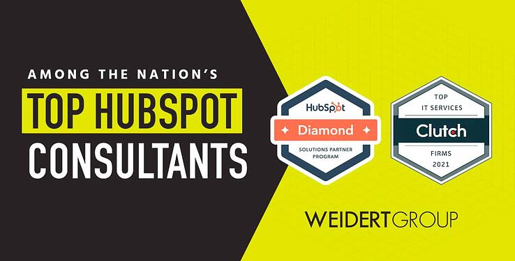weidert group among the nations top hubspot consultants diamond parter rated by clutch