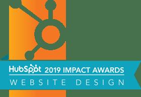 HubSpot 2019 Website Design Impact Award