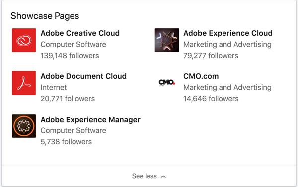LinkedIn-showcase-page