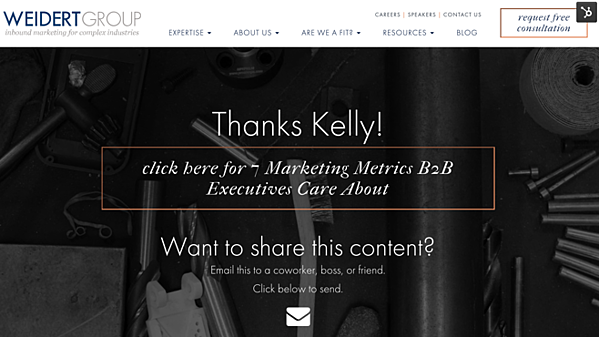 example-personalized-website-content