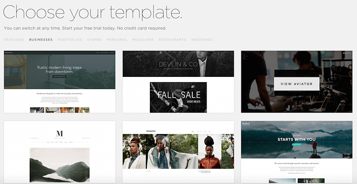 Squarespace-Themes