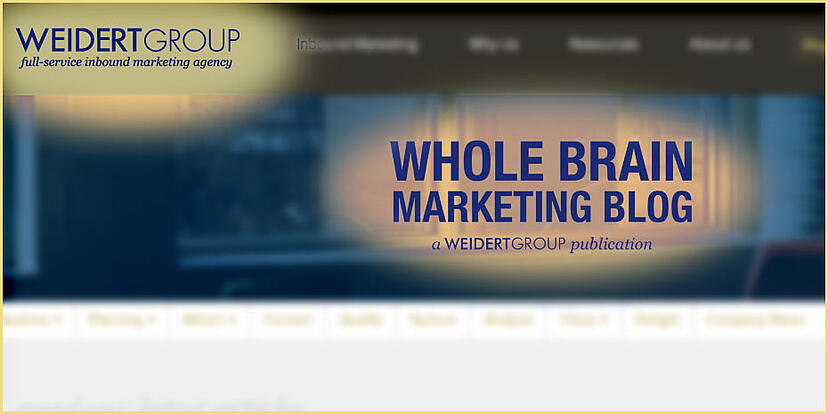 Weidert-Group-Blog-Screenshot