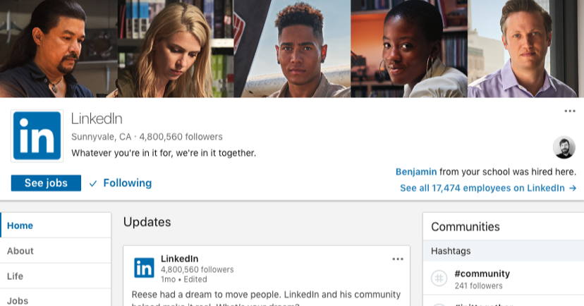 linkedin-company-pages