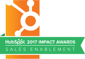 HubSpot 2017 Sales Enablement Impact Award