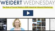 B2B social media strategy video