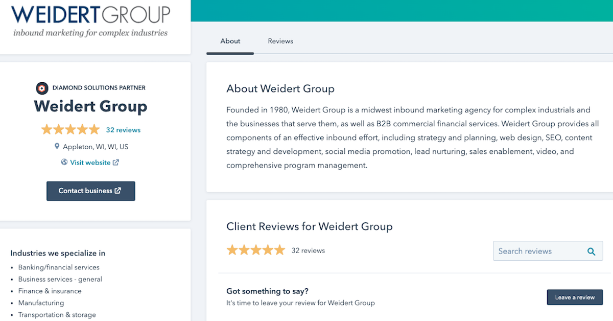 weidert-group-customer-testimonials