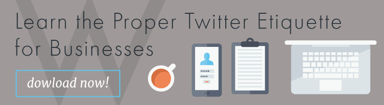 Learn the proper Twitter etiquette for businesses