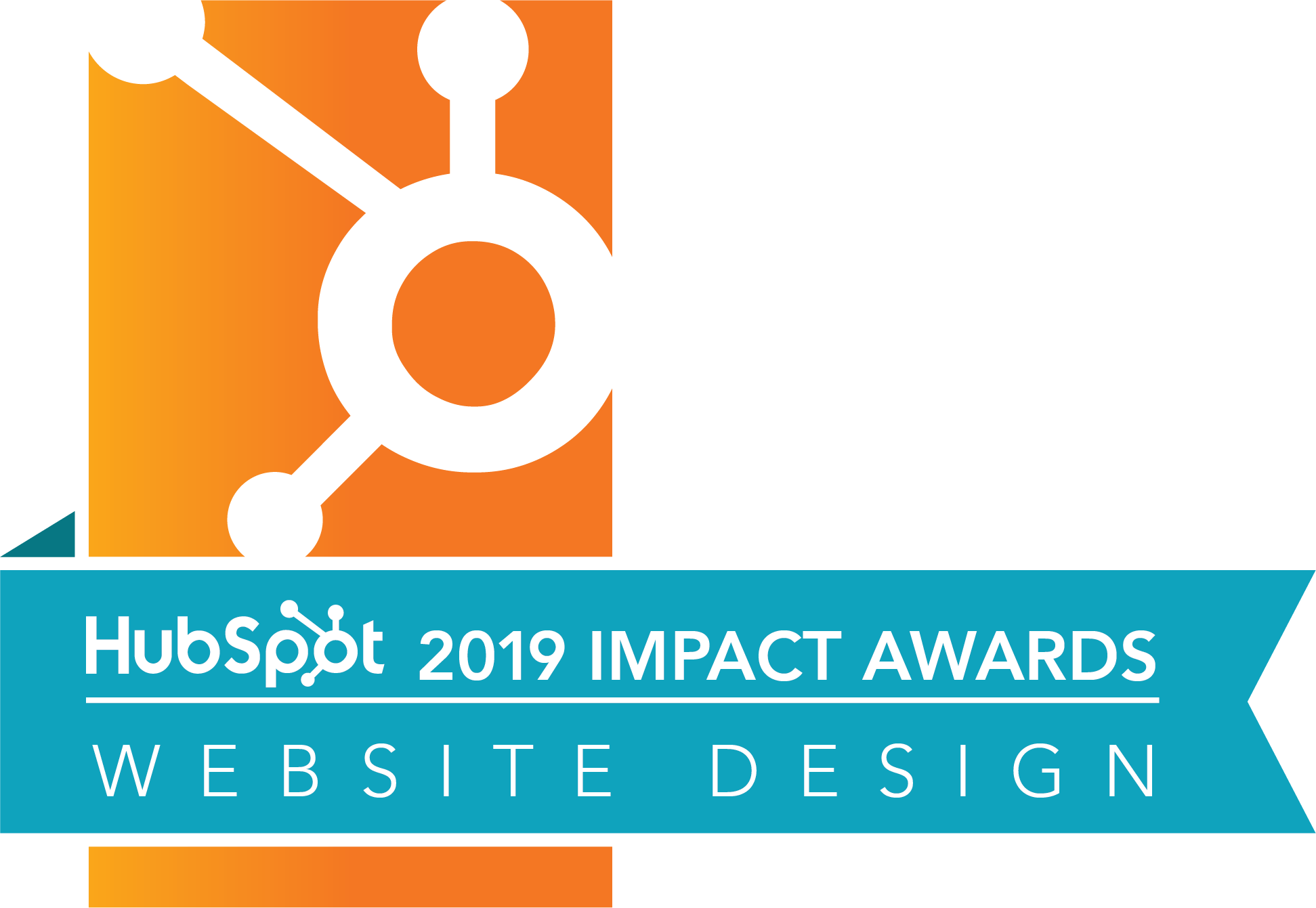 HubSpot 2019 Website Design Impact Award