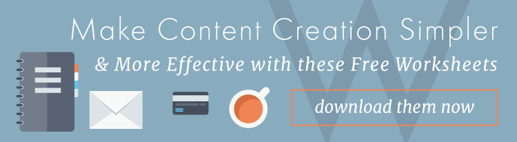 Content Creation Template & Worksheets