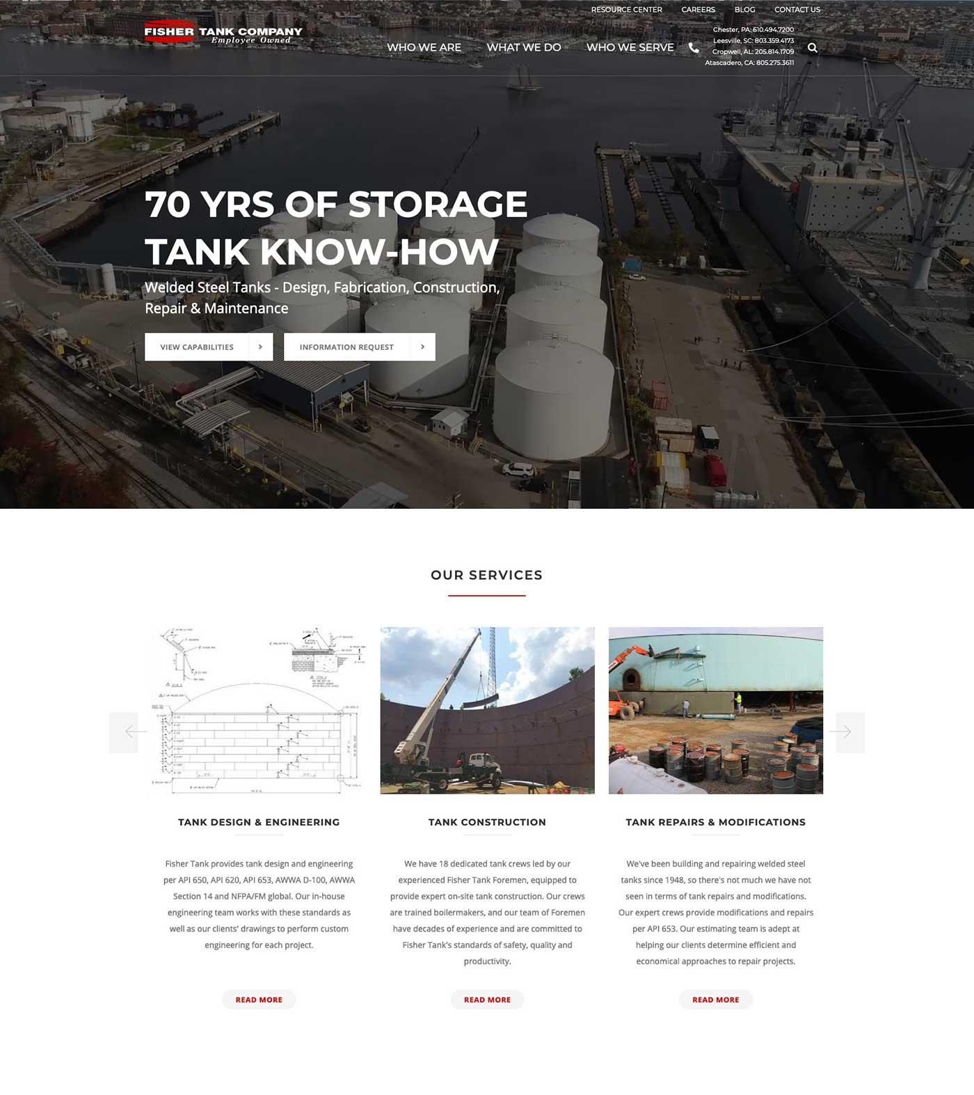 Fisher-Tank